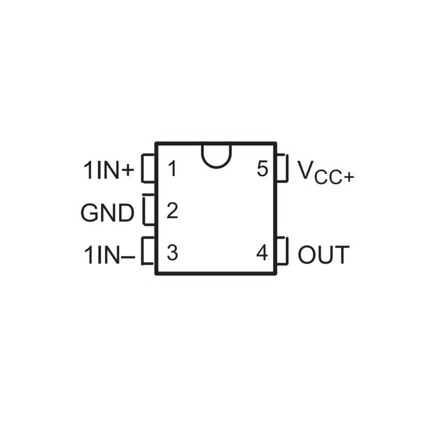 LMV321ILT SMD SOT23 Op-Amp Entegresi