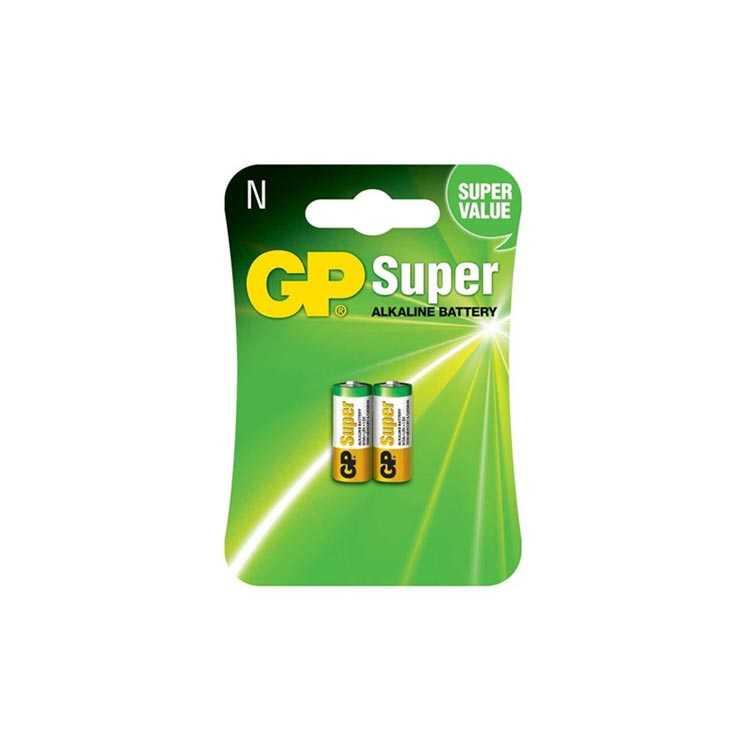 GP LR1 N Size 1.5V Alkalin Kısa / Yarım Kalem Pil (2 Adet)