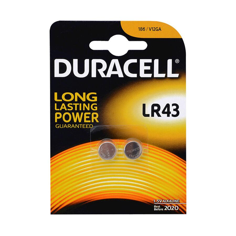 LR43 1.5V Pil 2li