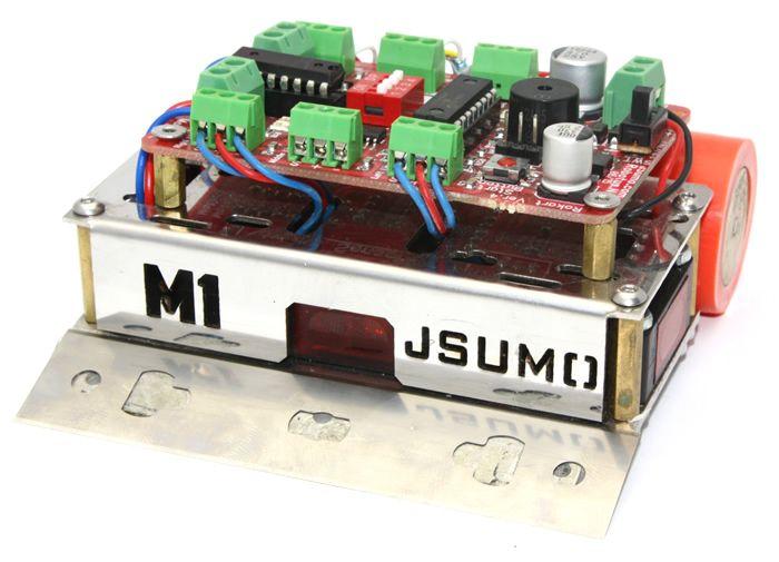 M1 Mini Sumo Robot Kiti - Rokartlı (Demonte)