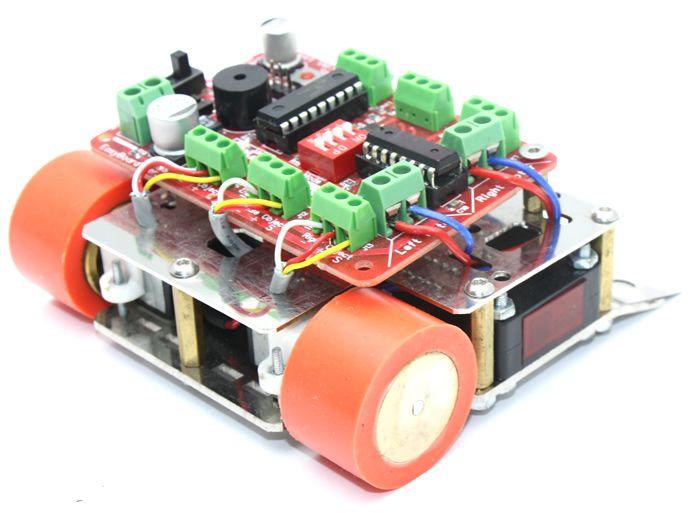 M1 Mini Sumo Robot Kiti - Rokartlı (Montajı Yapılmış)