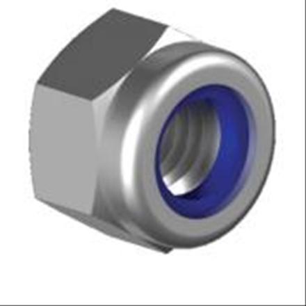 M3 Fiber Somun inox - 20 Adet