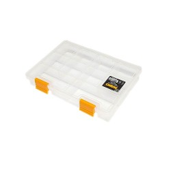 Mano Şeffaf Malzeme Kutusu 7 inç Klasik Organizer - Ş-ORG-7 - Thumbnail
