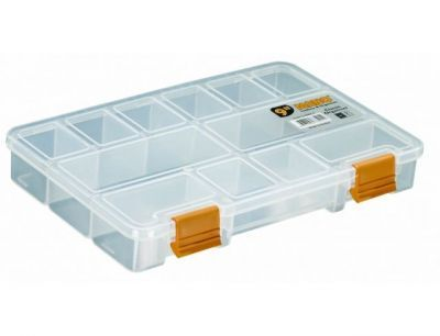 Mano Şeffaf Malzeme Kutusu 9 inç Klasik Organizer - Ş-ORG-9