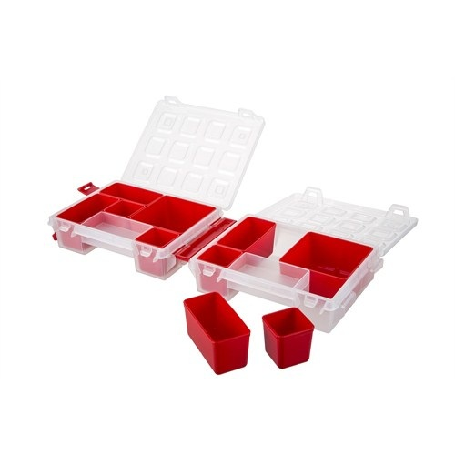 Mano Kırmızı Renkli Organizer 7 inch T-ORG-7