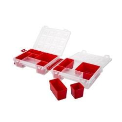 Mano Kırmızı Renkli Organizer 7 inch T-ORG-7 - Thumbnail