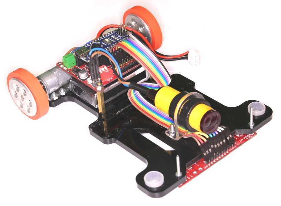 Maraton Çizgi İzleyen Robot Kiti (Demonte)