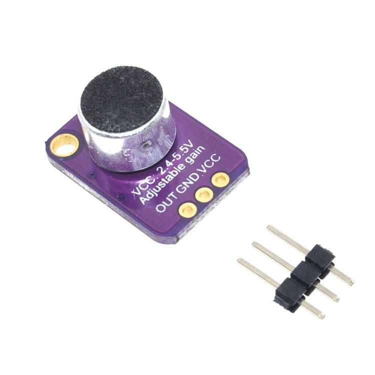 MAX4466 Elektret Mikrofon Modülü