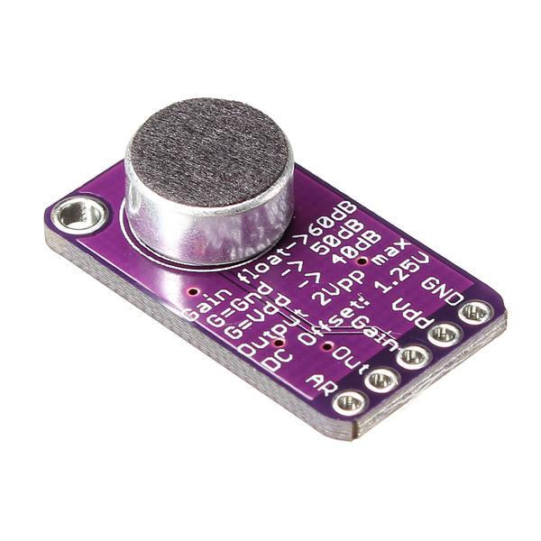 Max9814 Mikrofon Amplifikatör - Yükselteç Modülü - Arduino Uyumlu