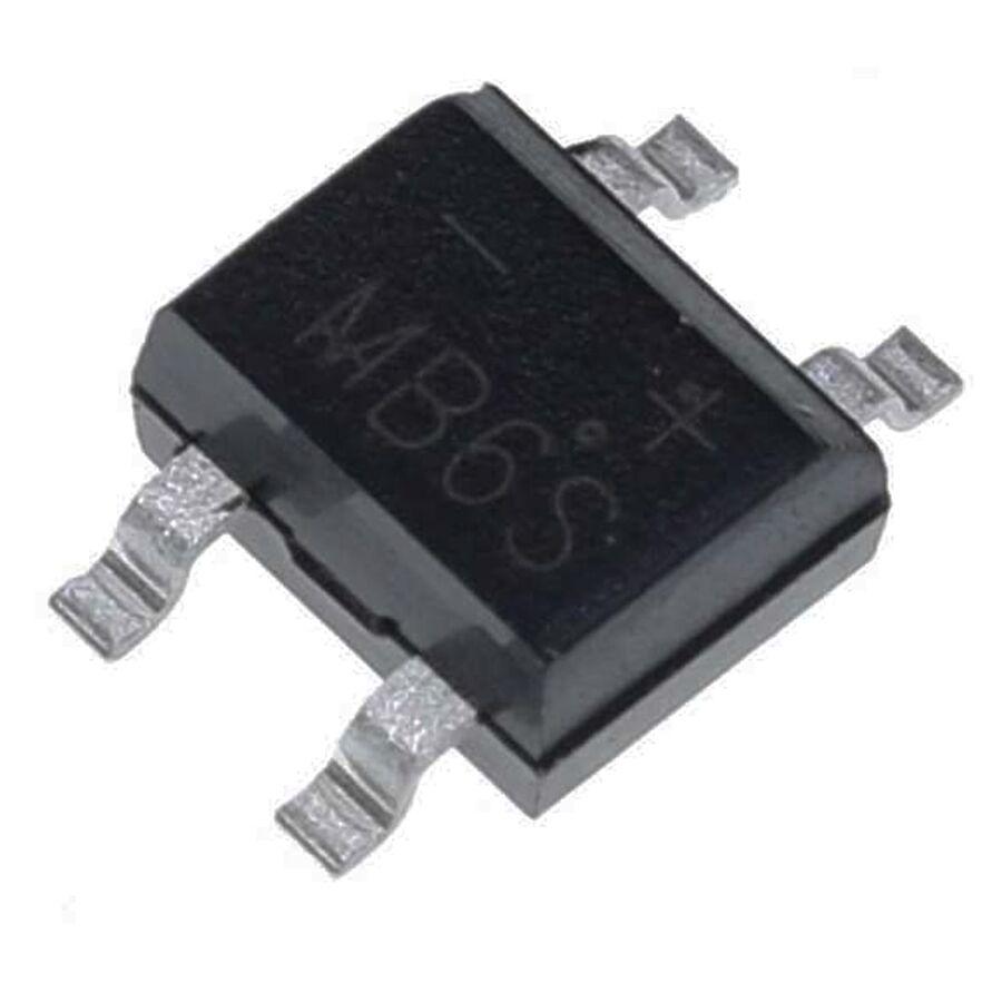 MB6S 0.8A 600V Köprü Diyot To269aa