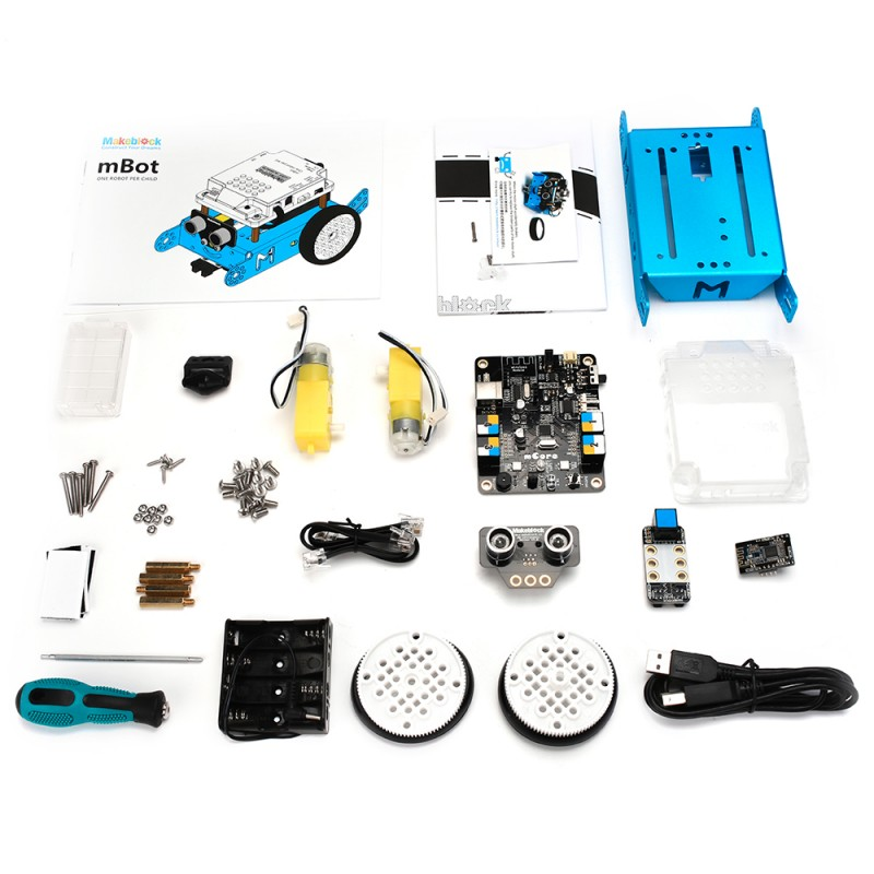 mBot V1.1 - Blue - Bluetooth Versiyonu STEM Eğitim Robotu