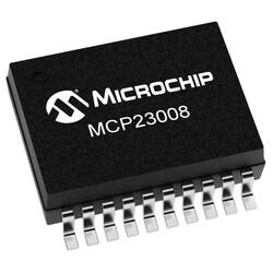 MCP23008T-E/SS 25mA 1.7MHz SMD G/Ç Çoklayıcı Entegresi SSOP20 - Thumbnail