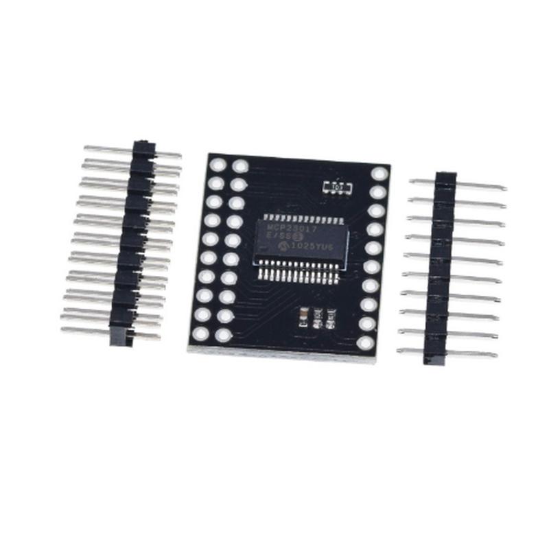 MCP23017 Seri Arayüz Modülü I2C SPI Çift Yönlü 16-Bit I/O Genişletici