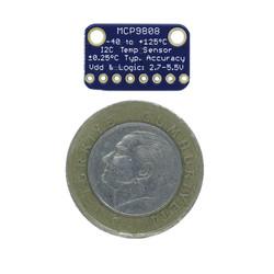 MCP9808 Yüksek Doğruluk I2C Sıcaklık Sensörü Tümleşik Kartı - Thumbnail