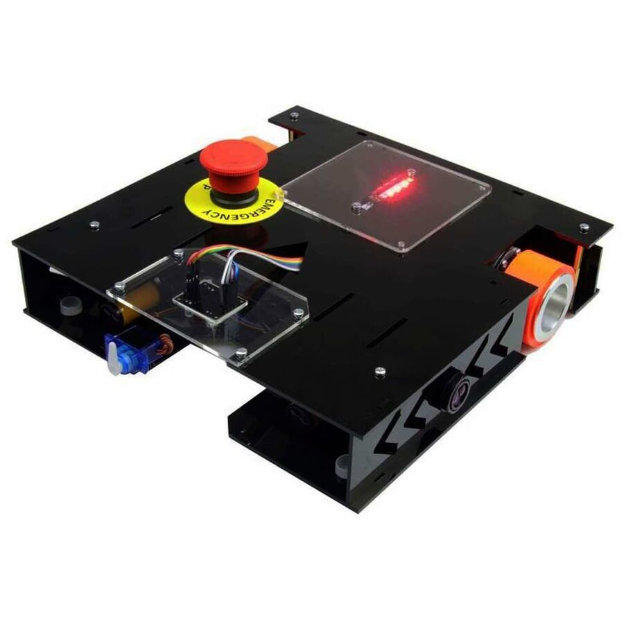 MEB Caretta Robot Kiti - Caretta Yumurta Toplama Robotu Pleksiglass Gövde (Montajlı)