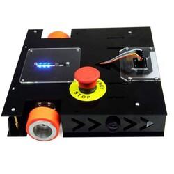 MEB Caretta Robot Kiti - Caretta Yumurta Toplama Robotu Pleksiglass Gövde (Montajlı) - Thumbnail
