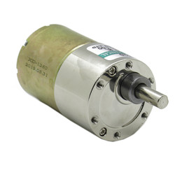 12V 100RPM 37mm Redüktörlü DC Motor (42 kg.cm) - Thumbnail