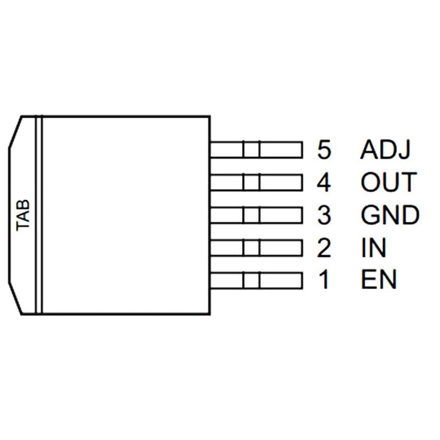 MIC29302WU-TR 26V 3A Smd Voltaj Regülatör TO263-5
