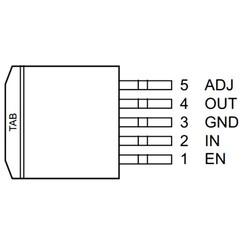 MIC29302WU-TR 26V 3A Smd Voltaj Regülatör TO263-5 - Thumbnail