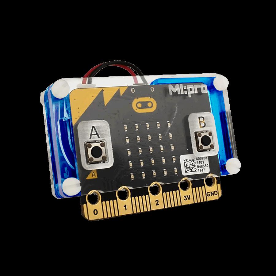 Micro:bit Koruyucu Kasa - Mavi