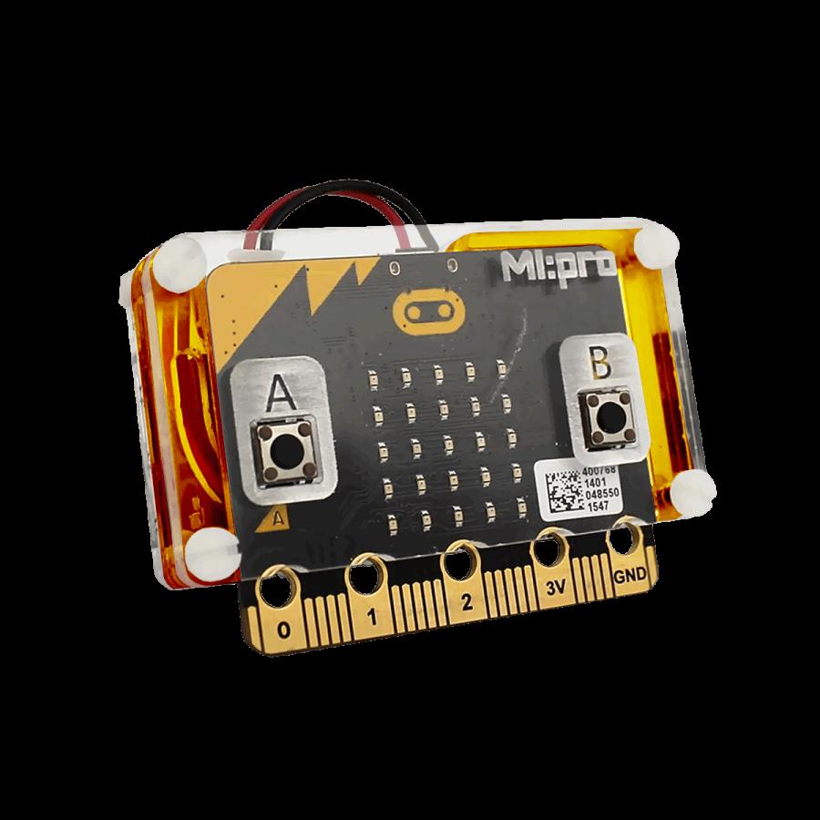 Micro:bit Koruyucu Kasa - Turuncu