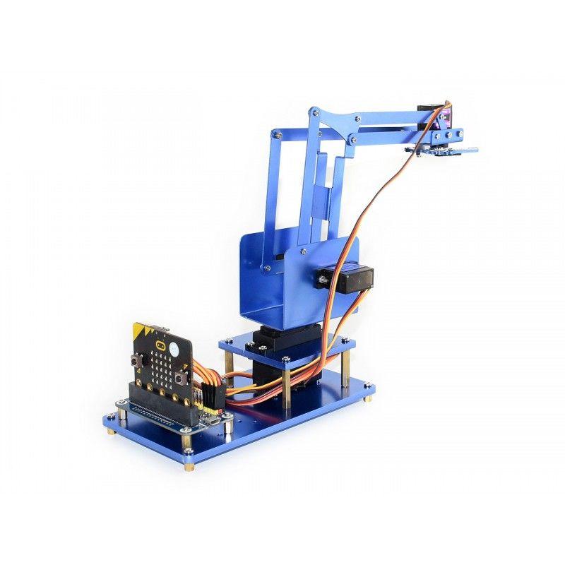 Mikro için 4-DOF Metal Robot Kol Kiti: micro bit-Bluetooth