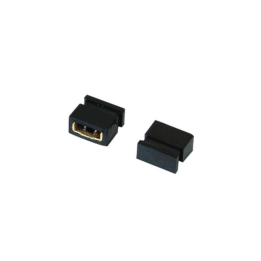 2 Pin 1.27mm Kısa Tip Dişi Jumper - 3mm DS1028