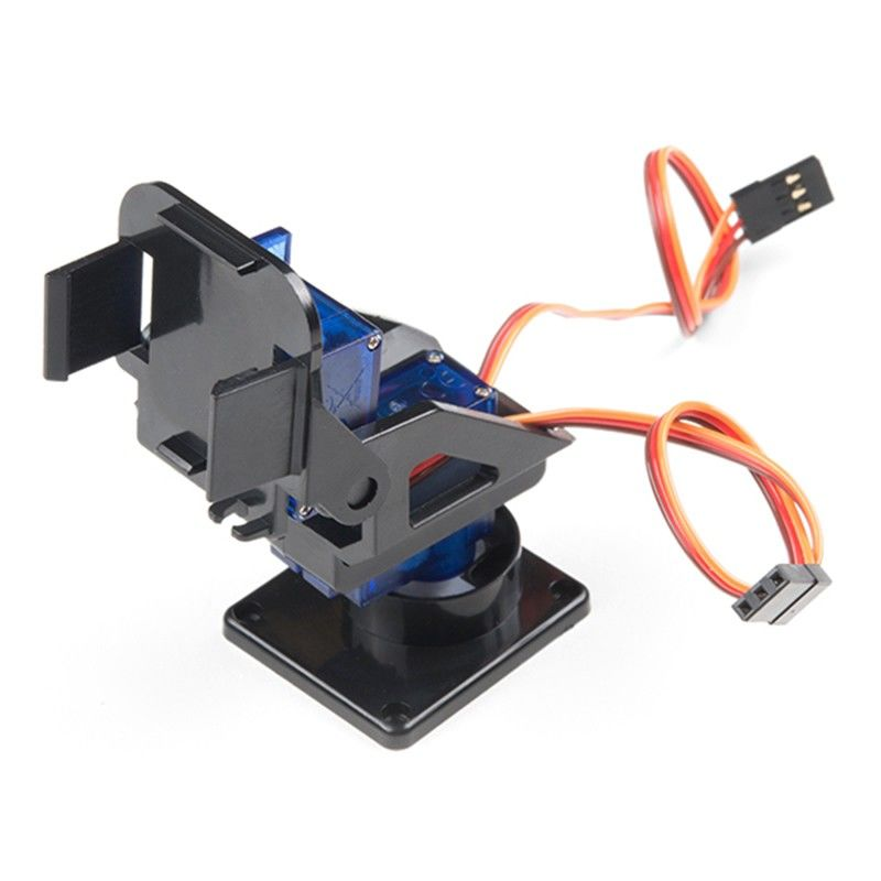 Mini Pan-Tilt Kiti (Mikro Servo Dahil - Montajlı)