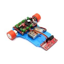 Mini Robot Gövdesi - Mavi - Thumbnail
