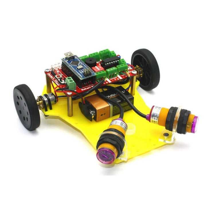 Mini Robot Gövdesi - Sarı