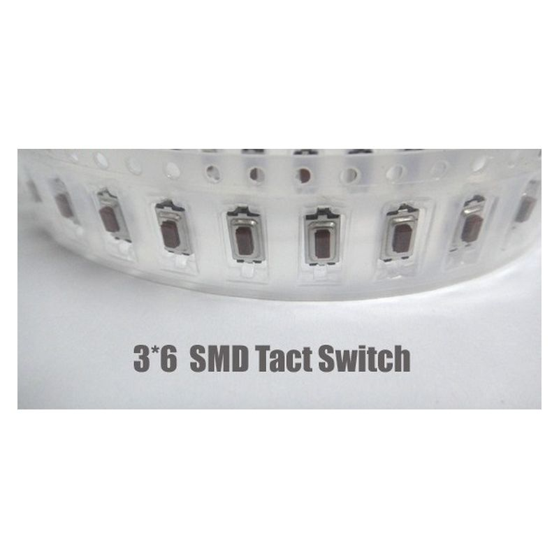Mini Tip SMT Tact Switch Buton