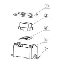 Mini Tip SMT Tact Switch Buton - Thumbnail