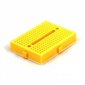 Mini Yapışkanlı Breadboard Sarı