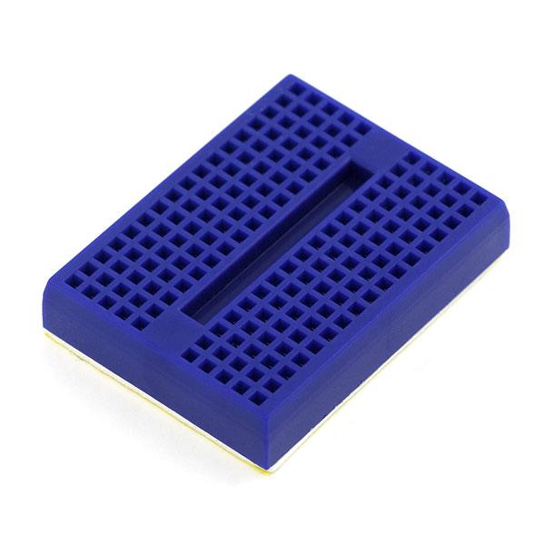 Mini Yapışkanlı Breadboard Mavi