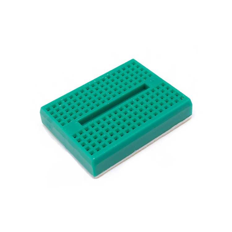 Mini Yapışkanlı Breadboard Yeşil
