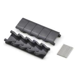 Minyatür Tank Paleti Parçaları ve Pimleri - Siyah (10′lu Paket) - Thumbnail