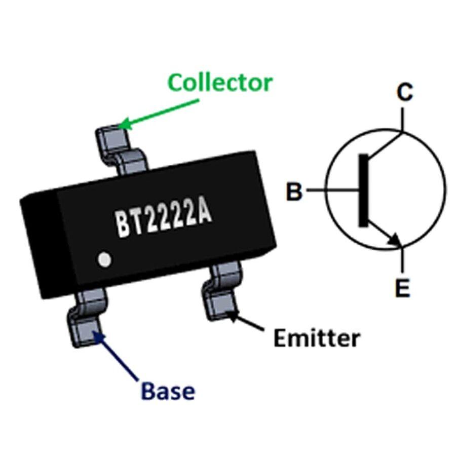MMBT2222A Npn Smd Transistör Sot23