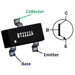 MMBT2222A Npn Smd Transistör Sot-23 - Thumbnail
