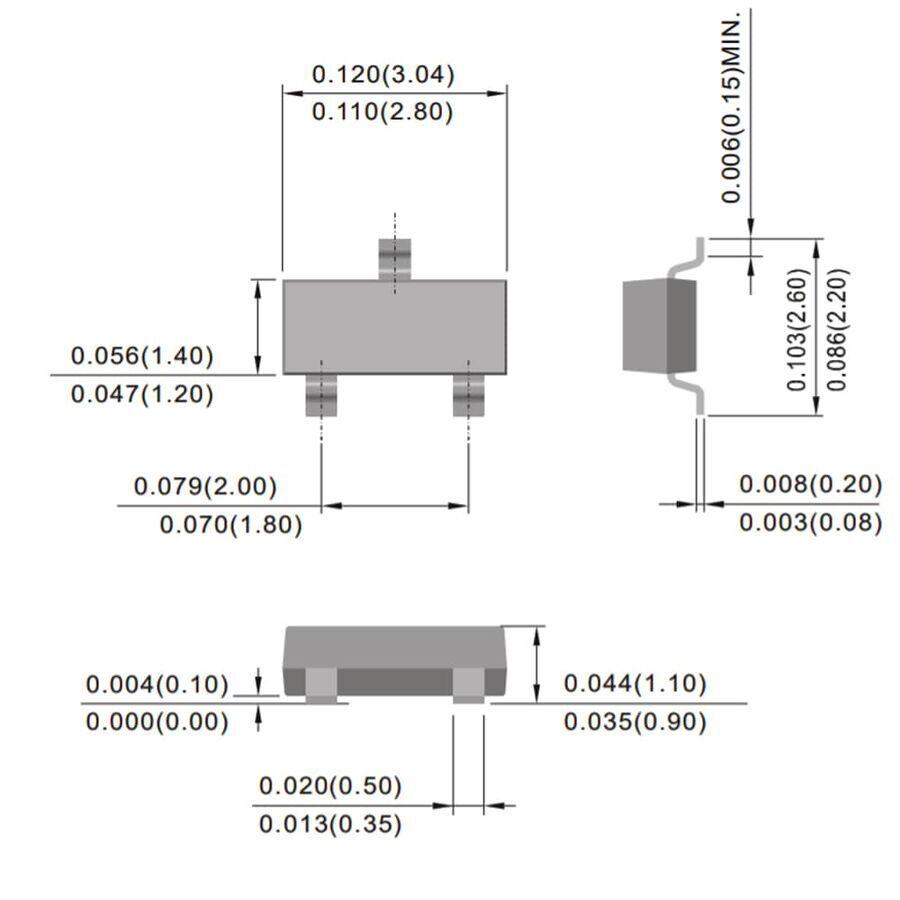 MMBT3904 Smd Npn Transistör Sot-23