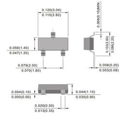 MMBT3904 Smd Npn Transistör Sot-23 - Thumbnail