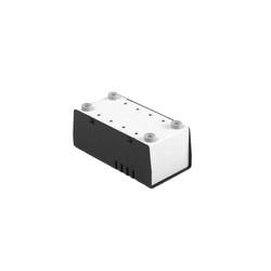 MP-050 Metal Kutu Siyah - 63.5 x 127 x 51mm - Thumbnail