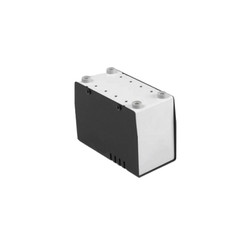 MP-055 Metal Kutu Siyah - 63.5 x 127 x 90mm - Thumbnail