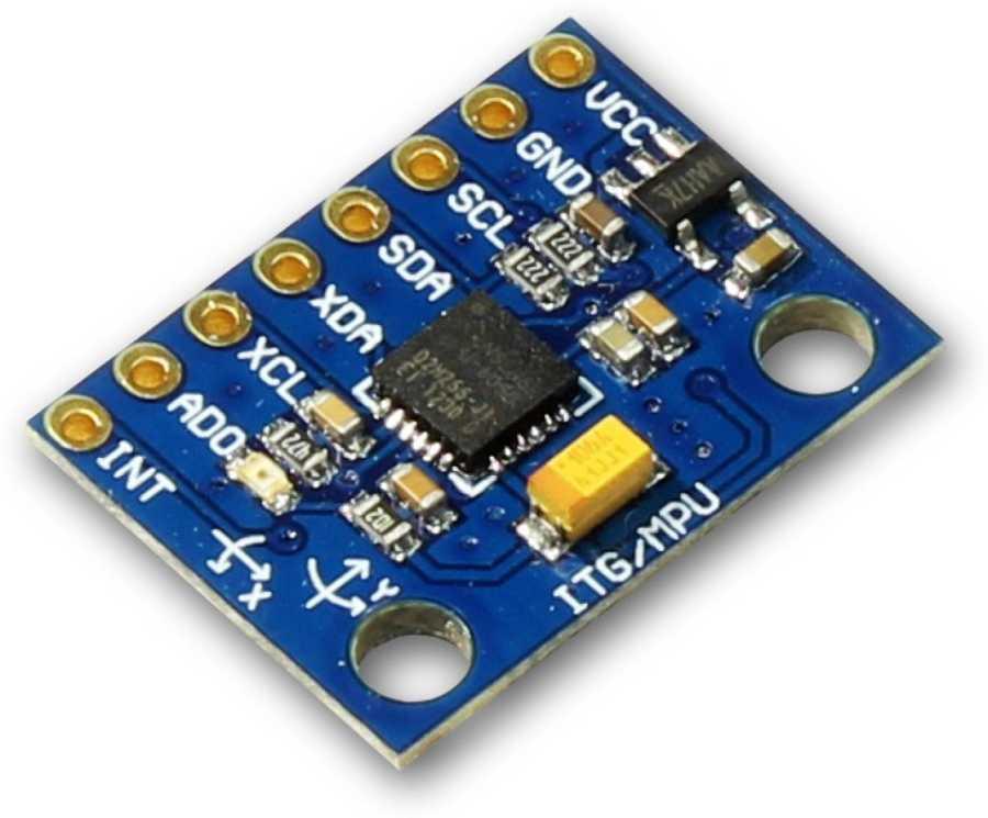 MPU6050 6 Eksenli Gyro ve Eğim Sensörü