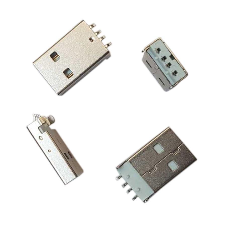 MS 038 USB 2.0 A Konnektör SMD Erkek