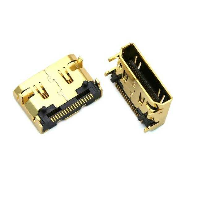 MS-050 Smd Gold Mini Hdmı Şase Soket