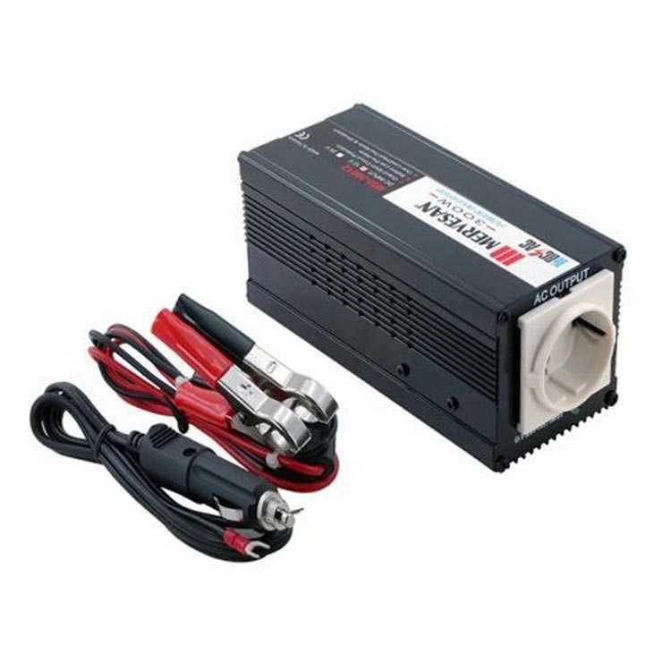 12V-24V 220V İnvertör / Çevirici - Mervesan 300W Inverter MSI-30012