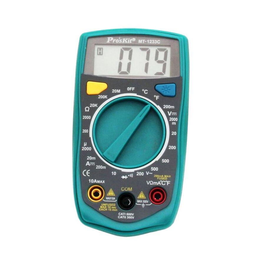 MT-1233C 3 1/2 Dijital Multimetre - Proskit