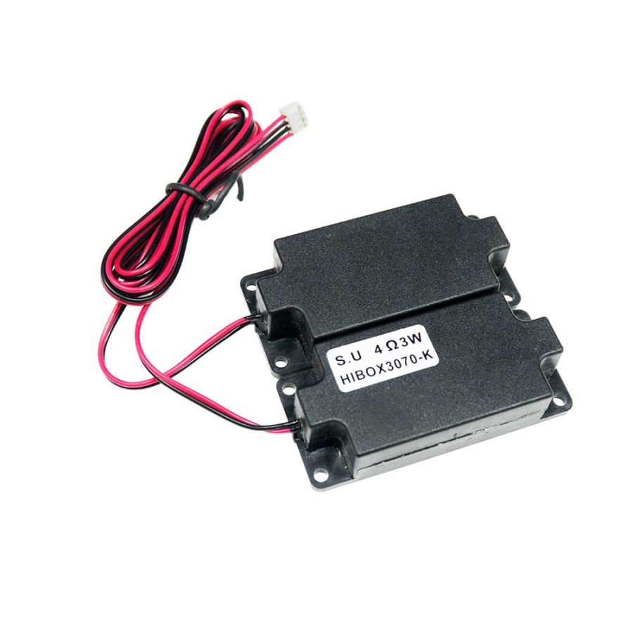Muhafazalı Stereo Hoparlör Seti - 3W 4 Ohm