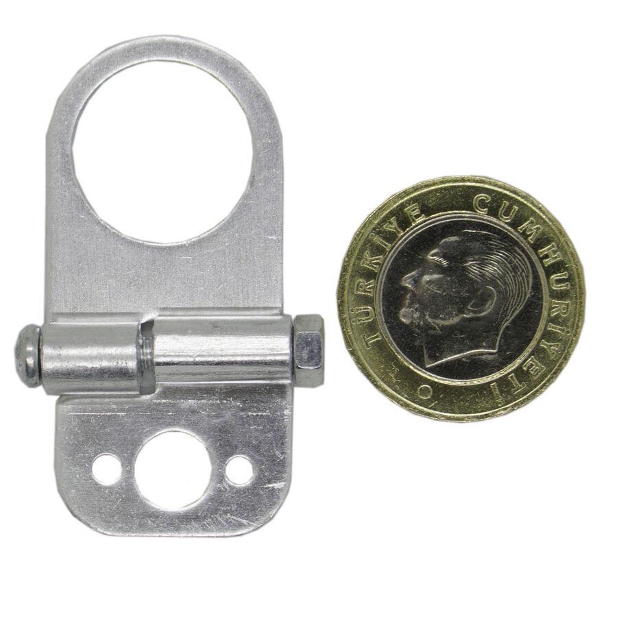 Mz80 Metal Sensör Bağlantı - Sabitleme Aparatı - Gri