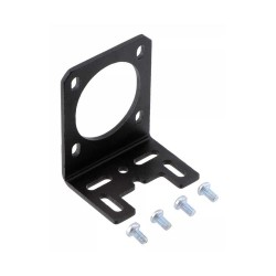 NEMA 14 Alüminyum Step Motor Tutucu - L Braket - Thumbnail